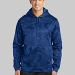 Sport Wick ® CamoHex Fleece Hooded Pullover