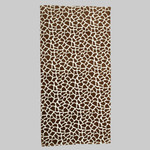 Animal Print Velour Beach Towel