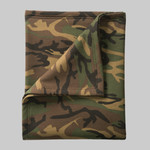 Core Fleece Camo Sweatshirt Blanket