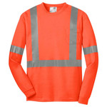 Ansi 107 Class 2 Long Sleeve Safety T Shirt