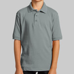 Youth 5.5 Ounce Jersey Knit Polo