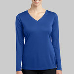 Ladies Long Sleeve V Neck PosiCharge™ Competitor™ Tee