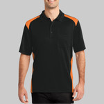 Select Snag Proof Two Way Colorblock Pocket Polo