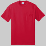 Tall 50/50 Cotton/Poly T Shirt with Pocket