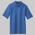 Tall Silk Touch™ Polo with Pocket