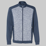 Golf Space Dyed Colorblock Full-Zip Jacket