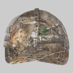 Camo Cap with American Flag Undervisor